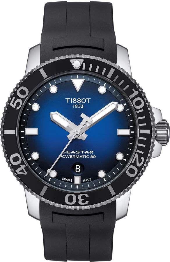 b97da312baf Tissot T-Sport Automatic Synthetic Strap Watch