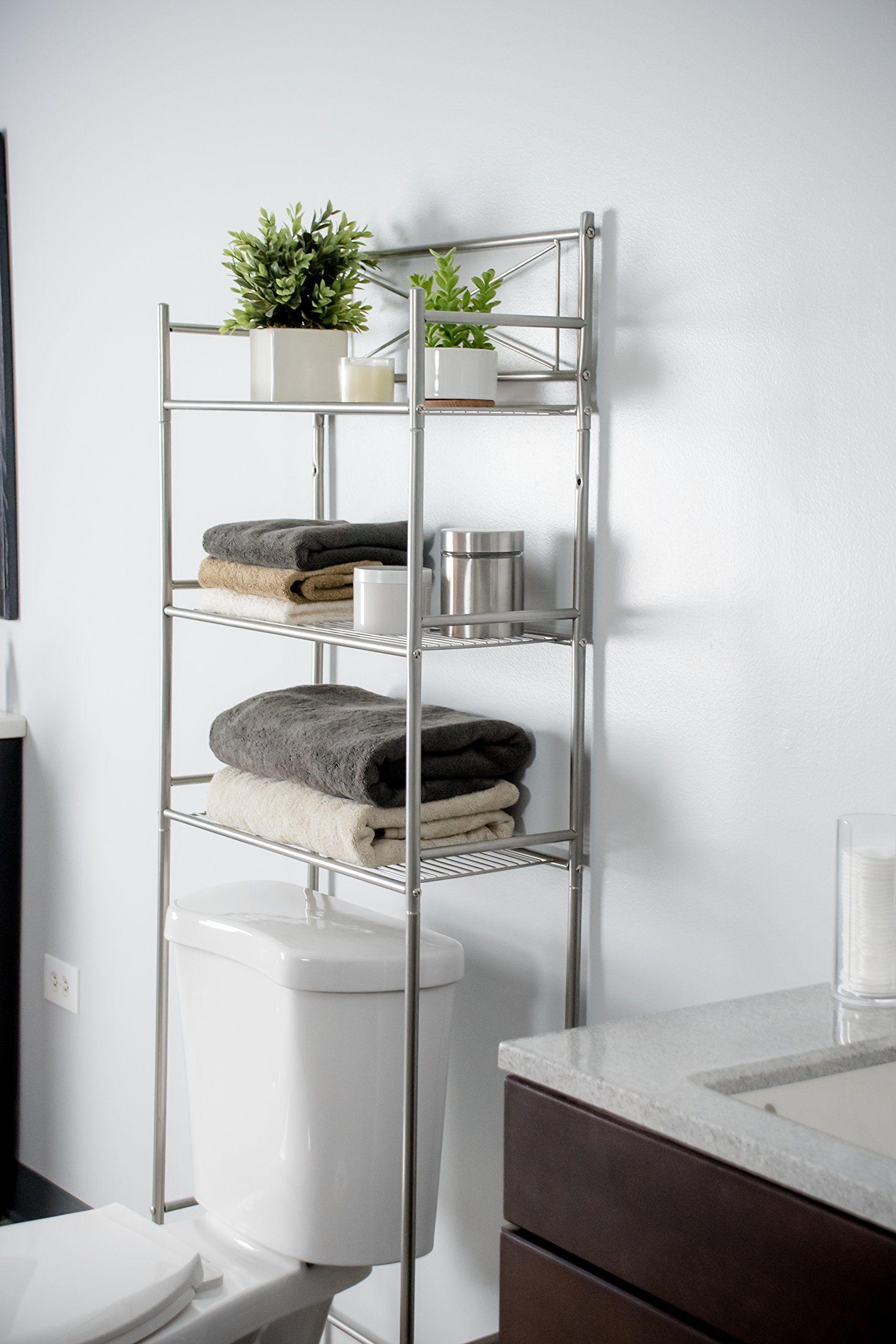 Space Saving 3 Piece Bathroom Organizer Set By Ldr Includes 3 Shelf