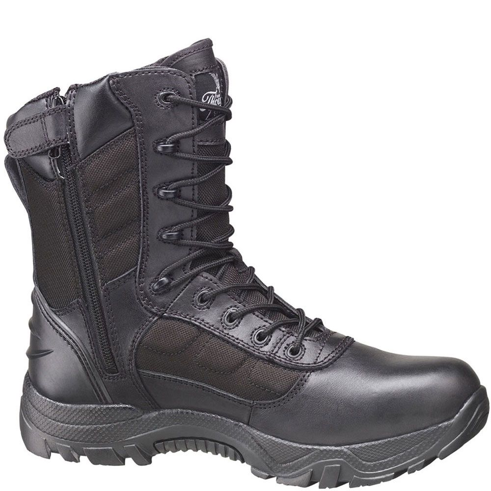 bc04130ab09 834-6219 Thorogood Men's Commando II Deuce Uniform Boots - Black ...