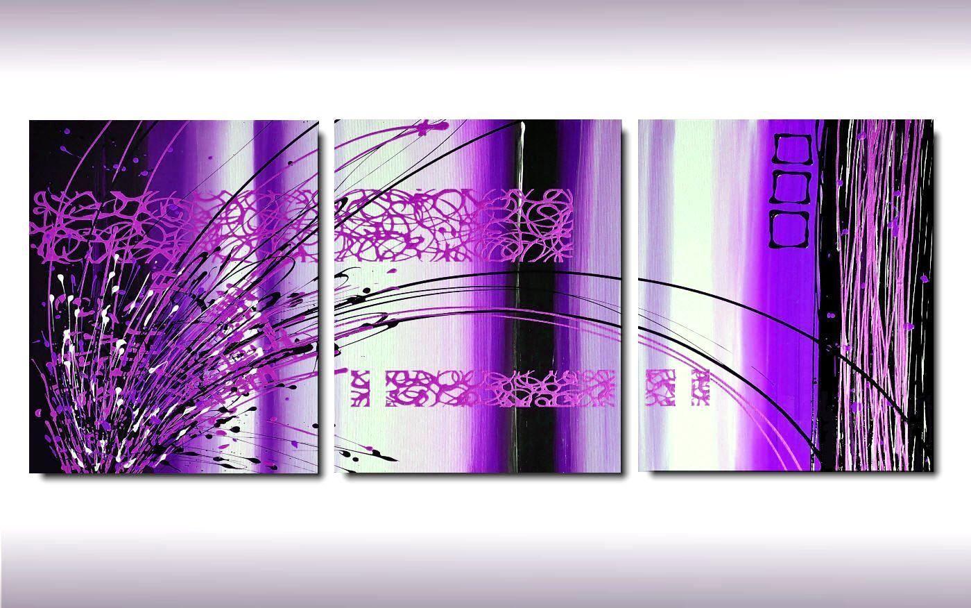 Stampe su tela fiori immagini decorazione murale Violet flower quadro moderno