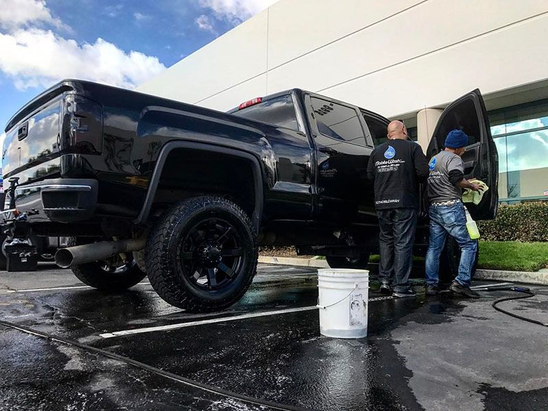 Enjoy your drive again with a car wash detail in