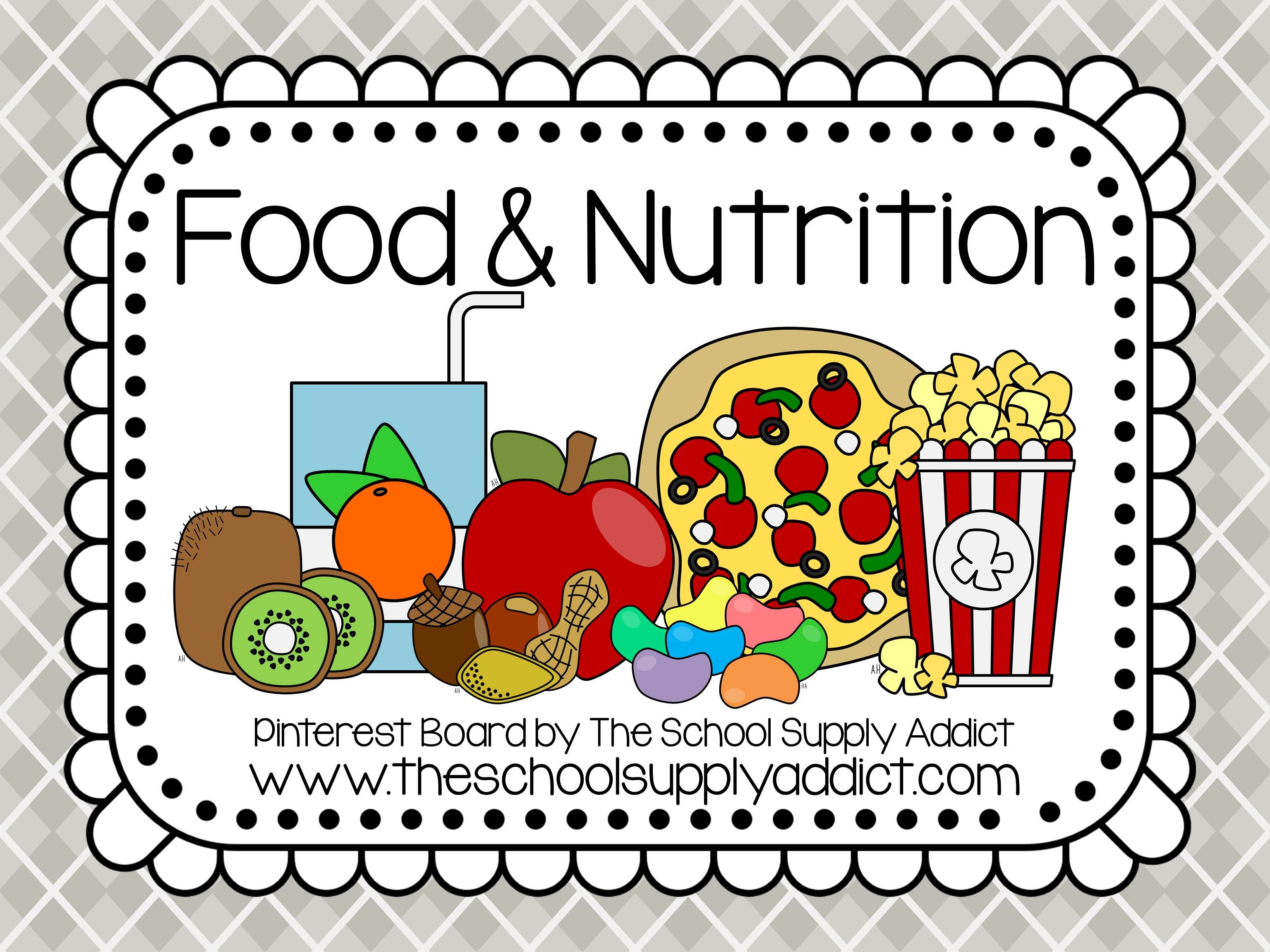 Food Amp Nutrition Pin Board By The School Supply Addict