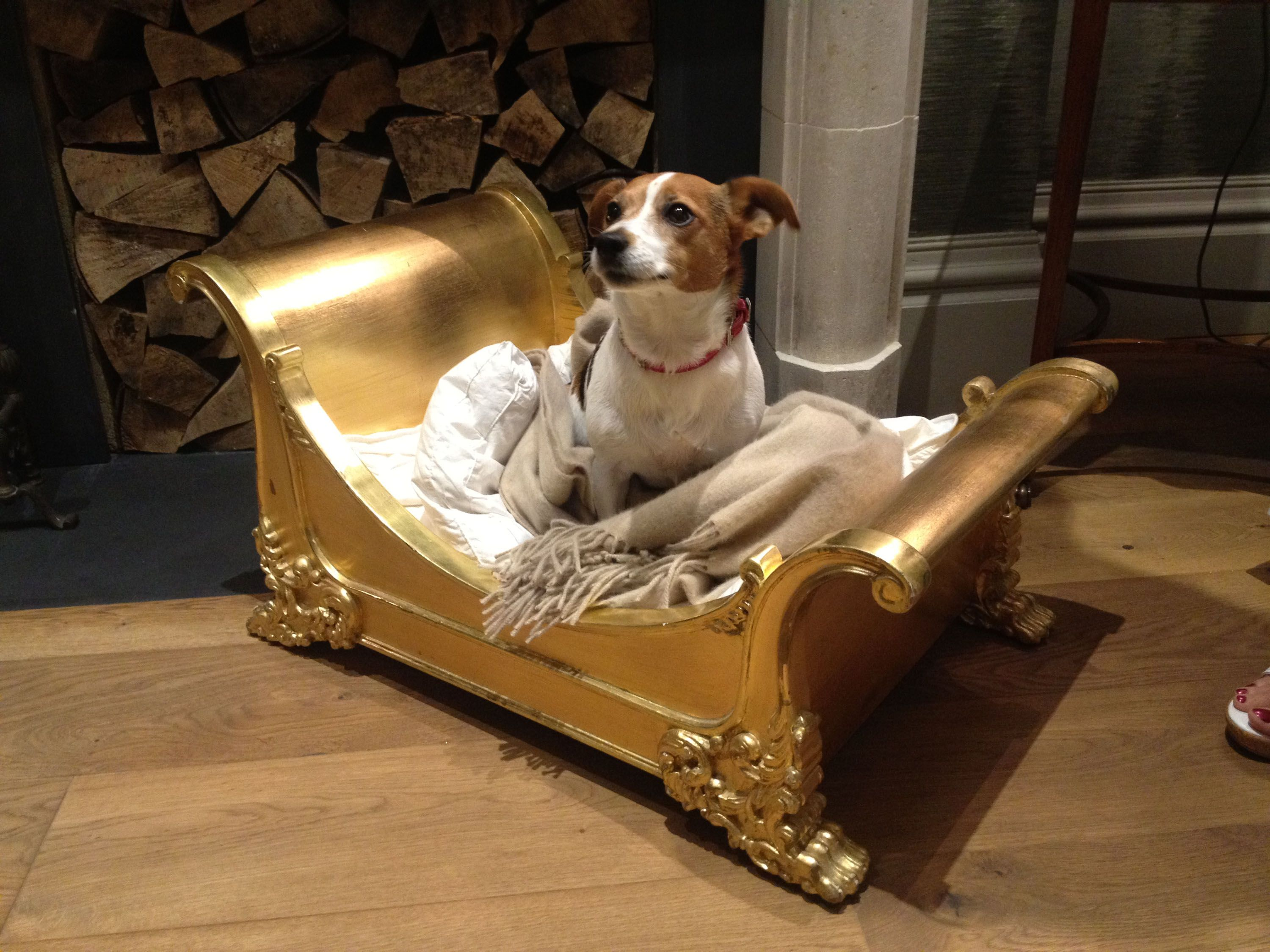 And So To Bed Dog Bed The Mini Brodsworth With Truffle