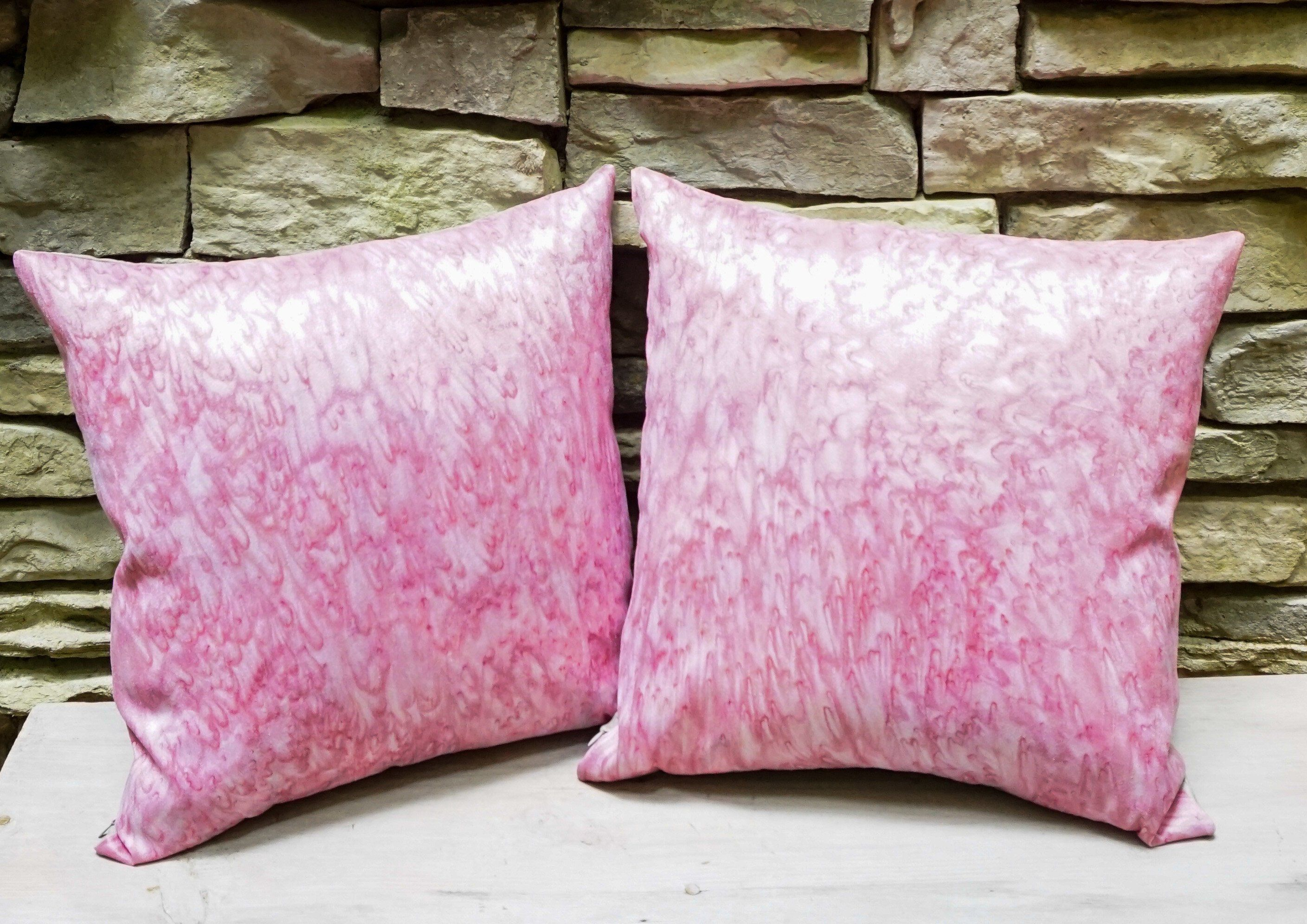 These Handmade Blush Pink Pillow Covers Will Beautify Your Girls