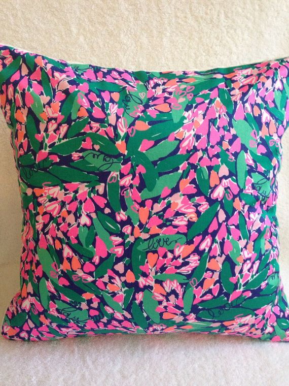 Lilly Pulitzer PillowLilly Pillow Cover Dorm Pillow Cover