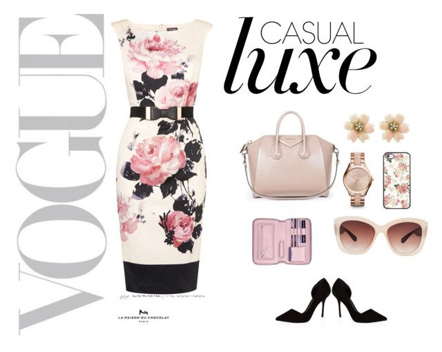 """""""casual luxe"""" by vbstyle88 ❤ liked on Polyvore"""