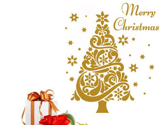 This perfect Christmas Wall Vinyl Decal will be a great addition to ...
