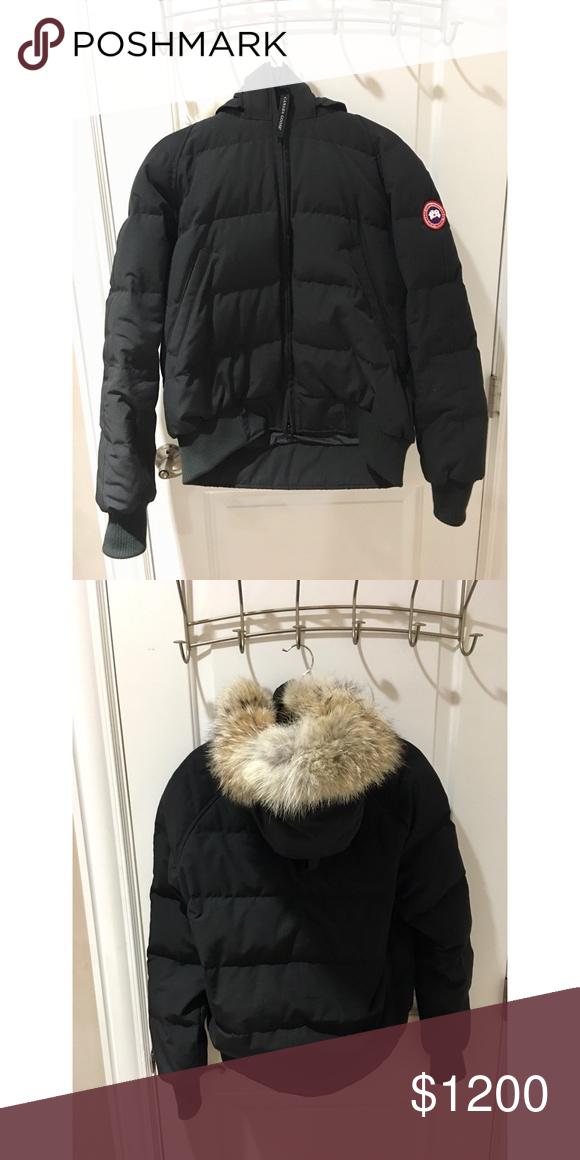 canada goose jacket poshmark
