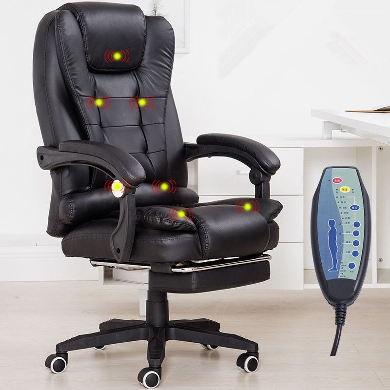 Home Office Computer Desk Mage Chair With Footrest Reclining Executive Ergonomic Heated Vibrating Furniture