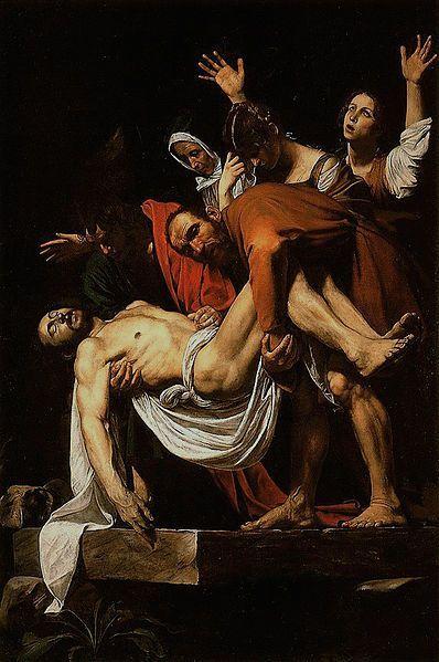 398pxCaravaggio  La Deposizione di Cristo is part of Caravaggio paintings, Baroque painting, Michelangelo caravaggio, Baroque art, Raphael paintings, Renaissance art - Visita l'articolo per saperne di più