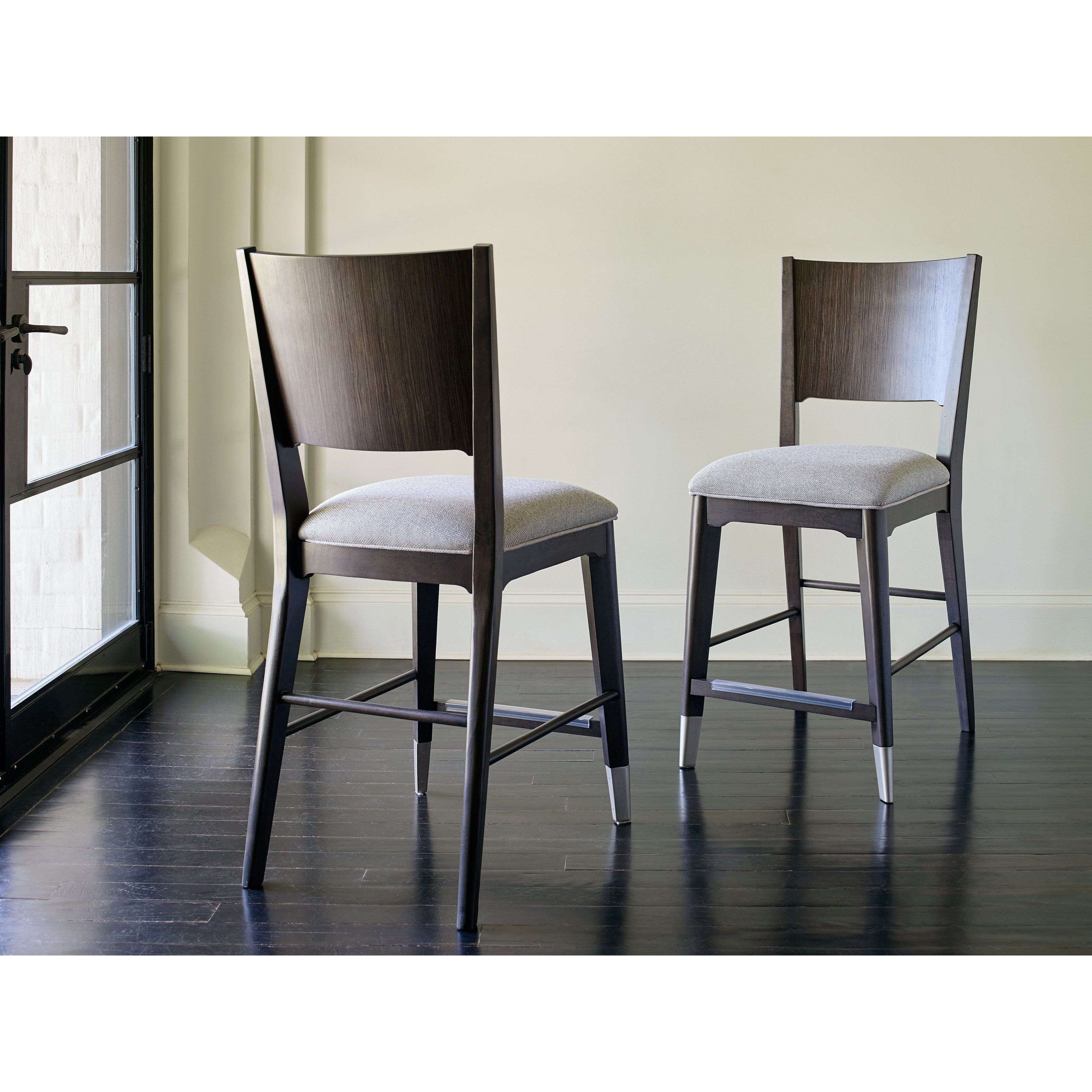 Rachael Ray Soho By Legacy Classic Upholstered Pub Chair   Set Of 2    LGC2058