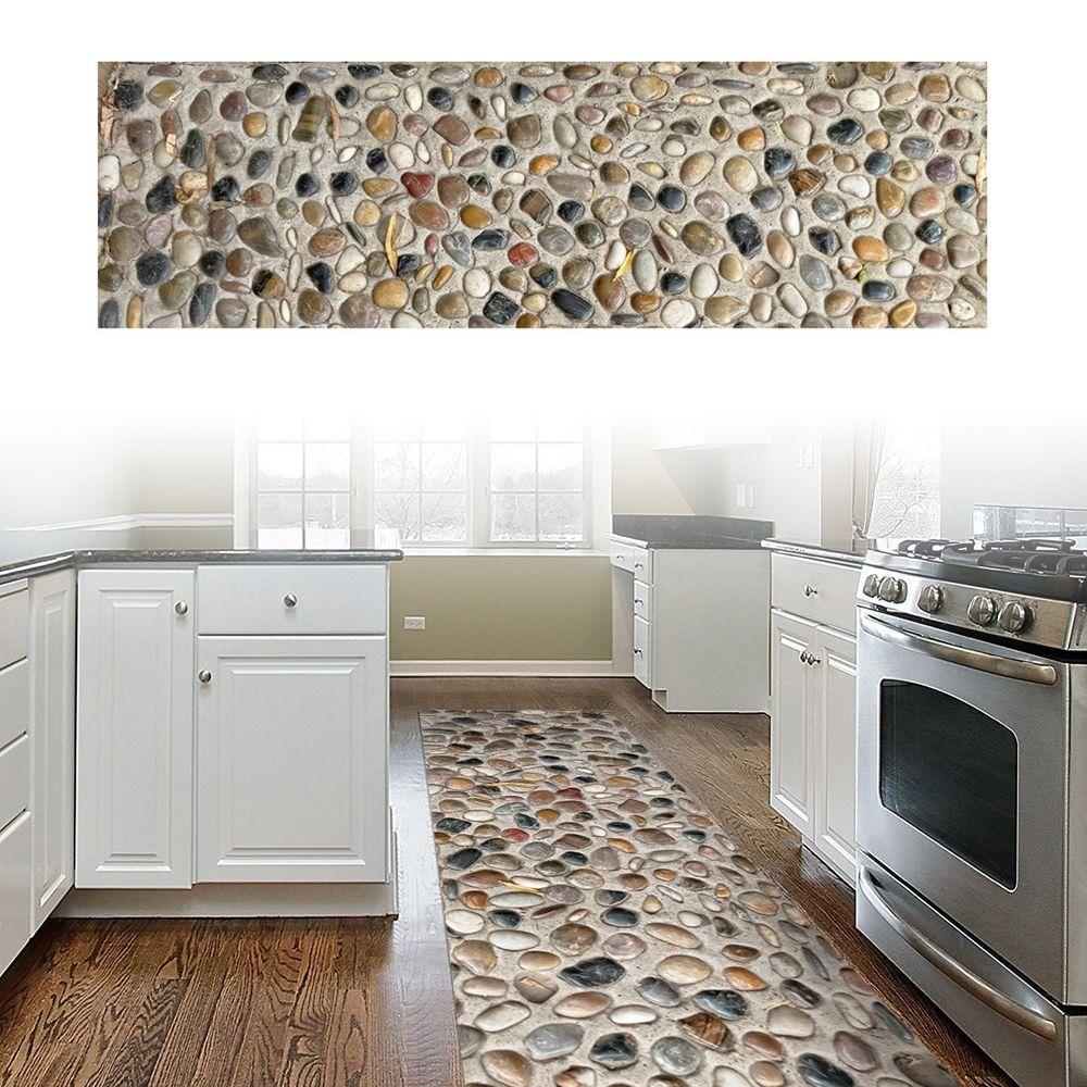 Kitchen Floor Mat Slip Resistant Hallway Bathroom Looks
