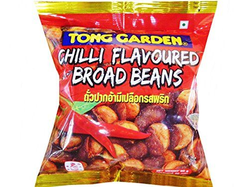 Tong Garden Broad Beans With Skin Snack Chilli Flavoured 60g Pack Of 2 Read More Reviews Of The Product By Visiting The Snacks Healthy Snacks Snack Recipes