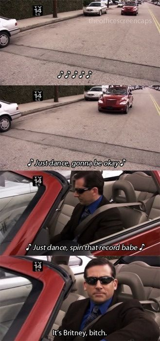 f1914cf99 It's Britney, bish. | That's what she said | Office memes, Michael ...