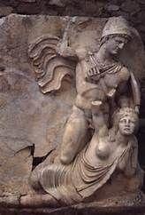 Statue Of Claudius And Britannia Statue Relief Sculpture Roman Art