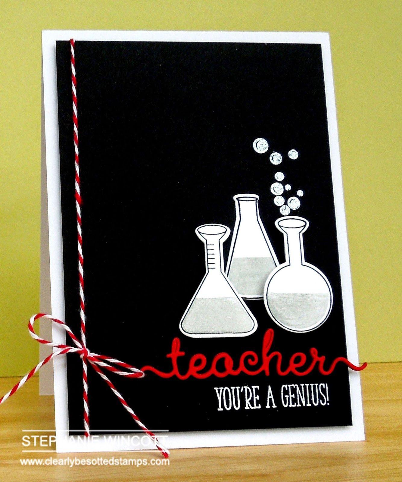 Stamping Sharing Teacher Birthday Card Teachers Day Card Teacher Cards