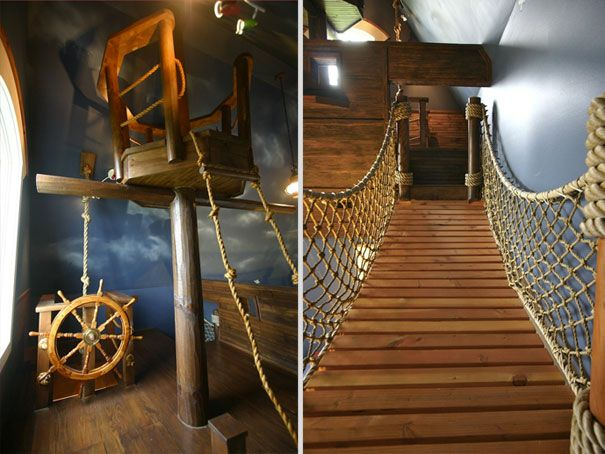 Amazing Ideas That Will Make Your House Awesome Pirate Ships - 33 amazing ideas that will make your house awesome