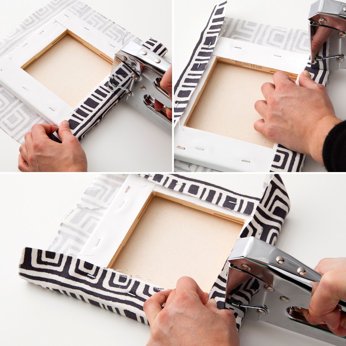 A Ridiculously Easy Way to Make Custom Canvas Wall Art | Pinterest ...