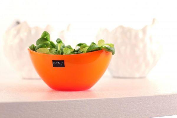 Miska / Salaterka plastikowa VIALLI DESIGN LIVIO ENSALADA POMARAŃCZOWA 0,6 l