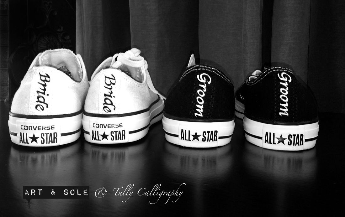 bride and groom converse Google Search Bryllupsomtale  Wedding converse