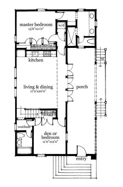 Rosebud Cottage Southern Living House Plans House Plans Southern Living House Plans New House Plans