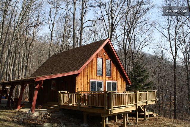 Hip Little Cabin On The Hill In Swannanoa North Carolina