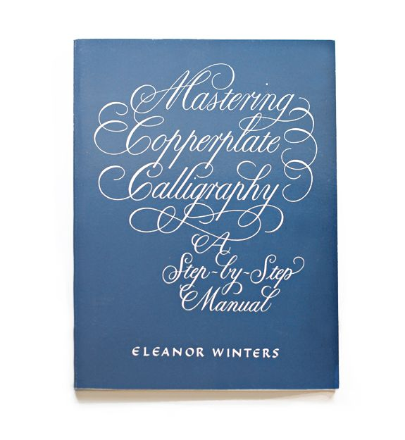 Learn Calligraphy Book Recommendation Copperplate