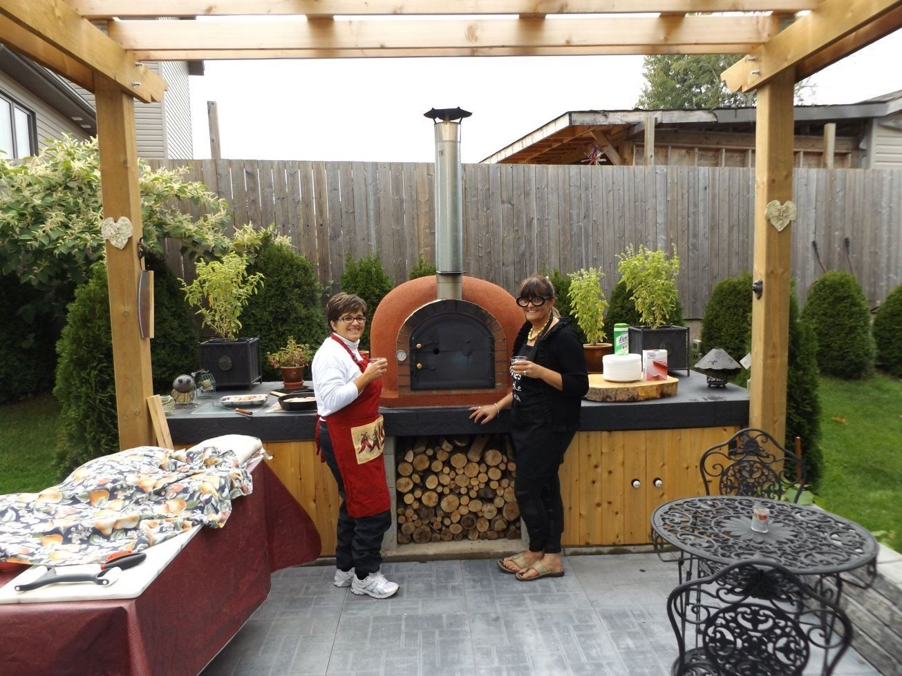 Outdoor Küchen Plan : Diy outdoor kitchen plan with pizza oven google search outdoor