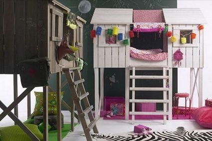 Camas infantiles La habitación de los niños Pinterest Camas