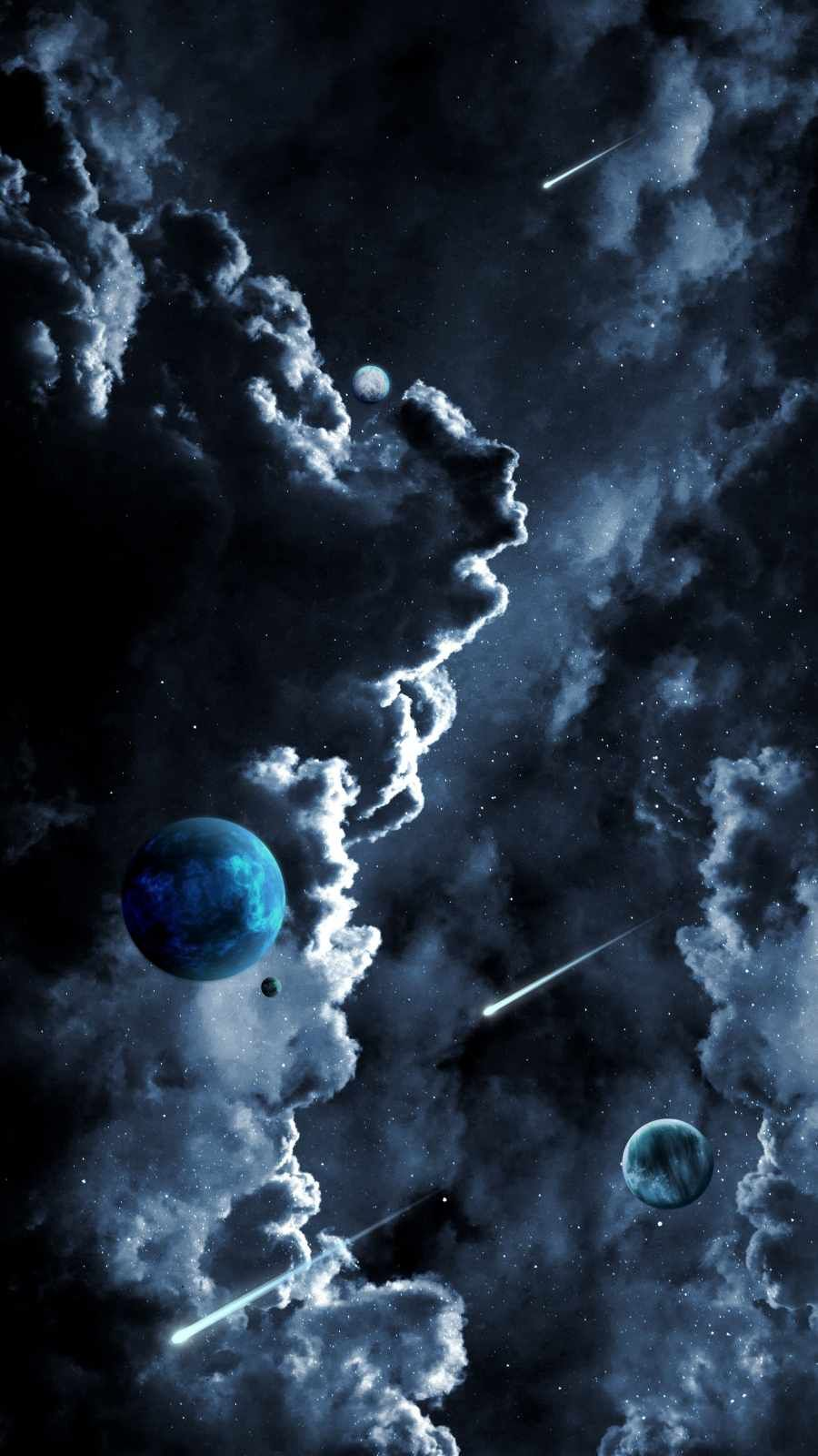 Space Clouds - IPhone Wallpapers