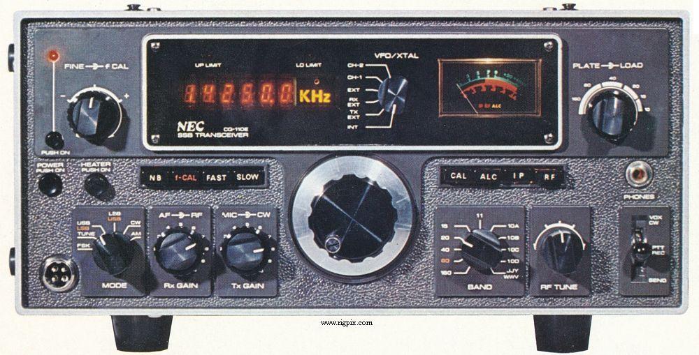 RigPix Database - Other ham radios - NEC CQ-110E   ham radio