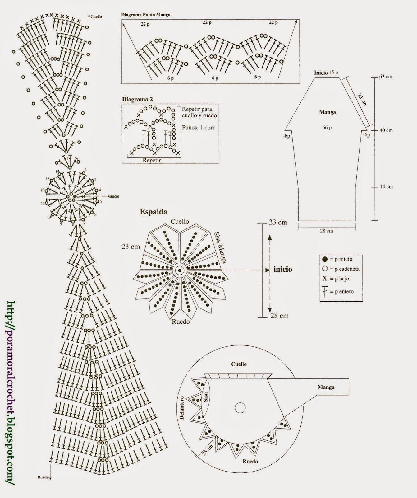 3.+Chaleco+Calado+Espalda+Circular+-+Diagrama.jpg (1342×1600 ...