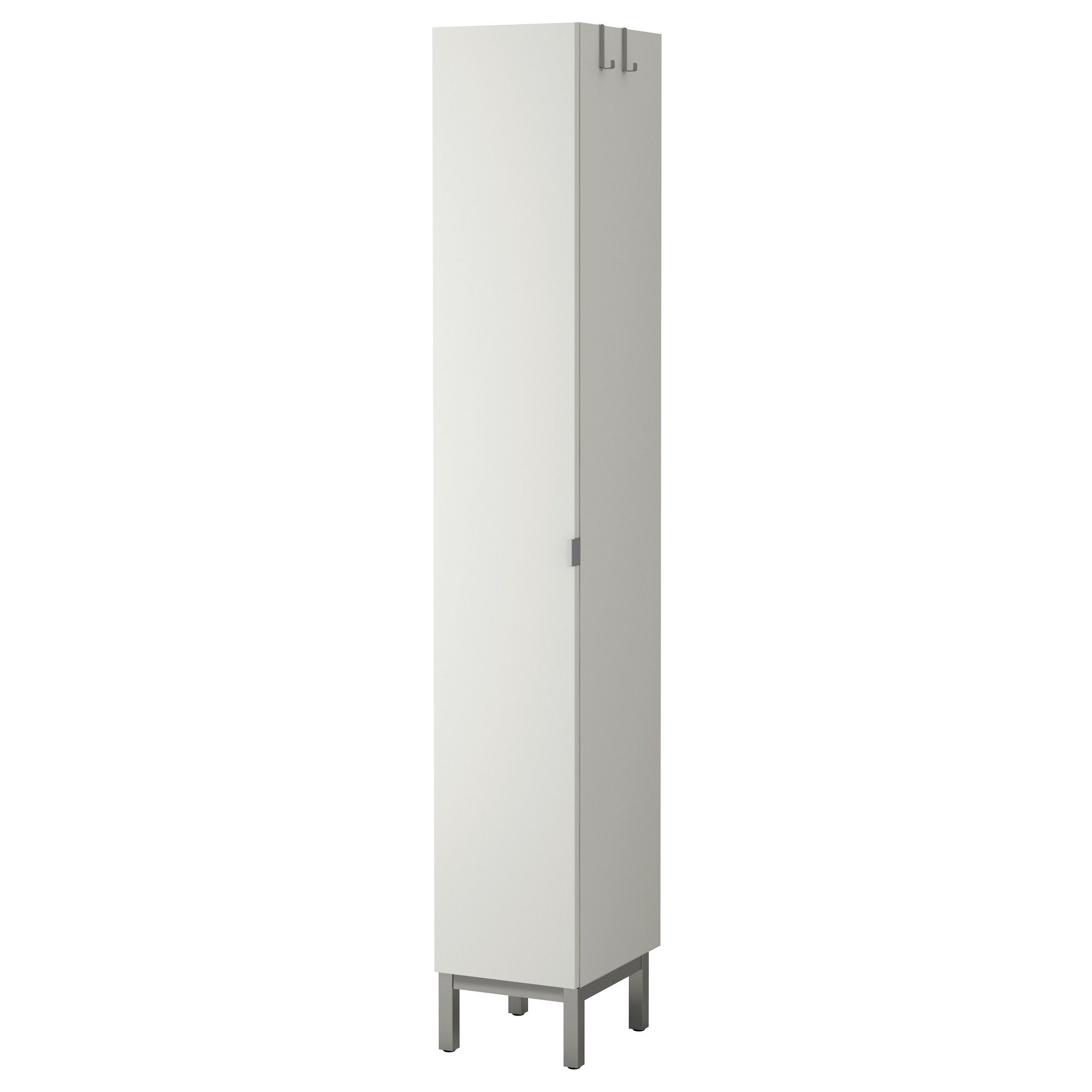 Lill ngen high cabinet 1 door white ikea basement - Tall bathroom storage cabinets with doors ...