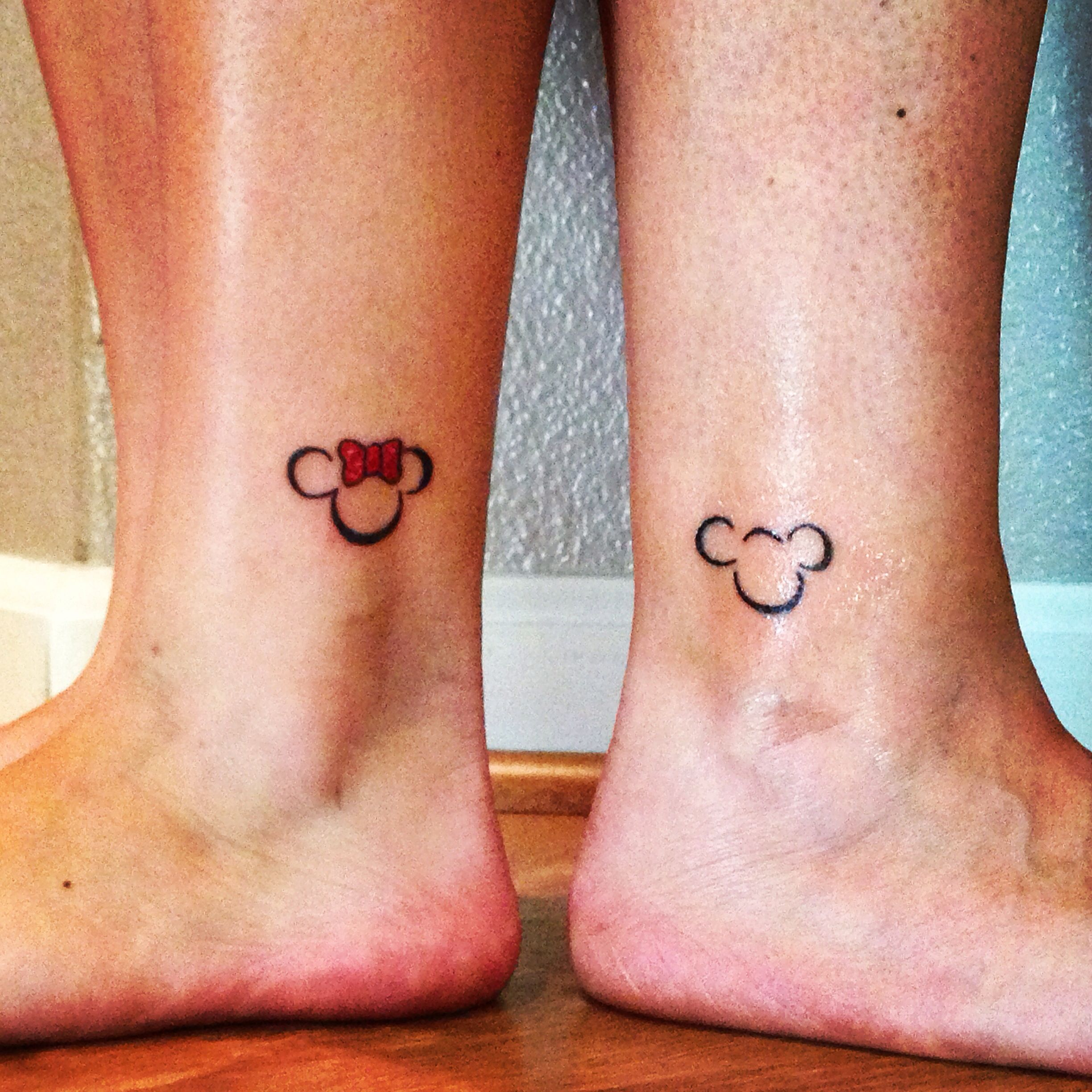 These Classic Disney Quote Tattoos Will Make You Feel All: Mother & Daughter Disney Tattoos!!