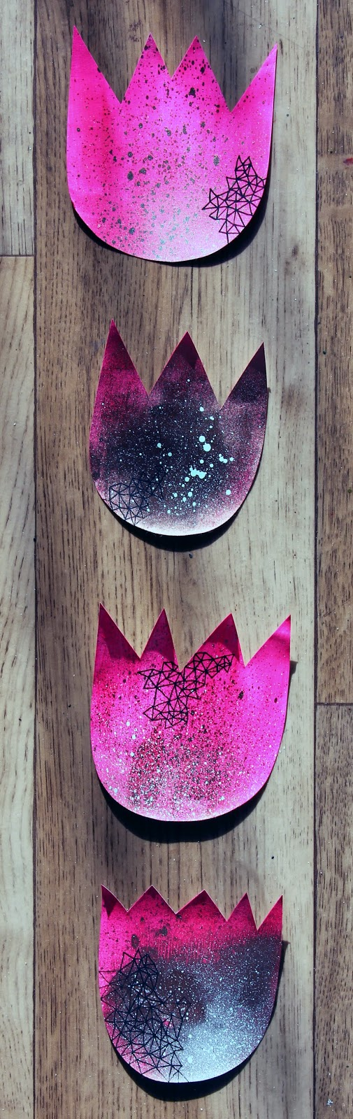 Tulpenpink via dorette