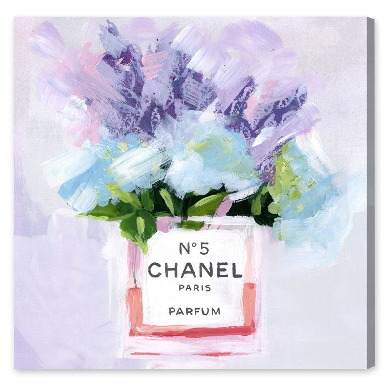 Oliver Gal Paris N5 Canvas Wall Art - 17453_