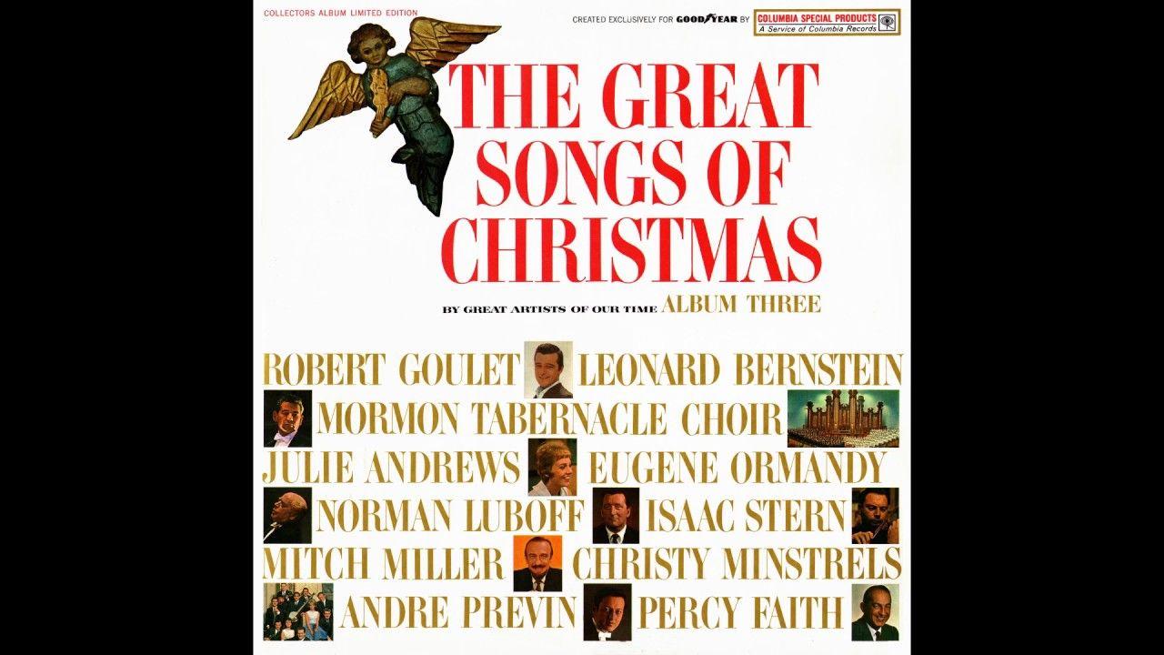 The Great Songs Of Christmas Album Three Goodyear 1963 Recetas