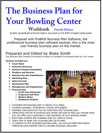 The Business Plan For Your Bowling Center  Reading Material