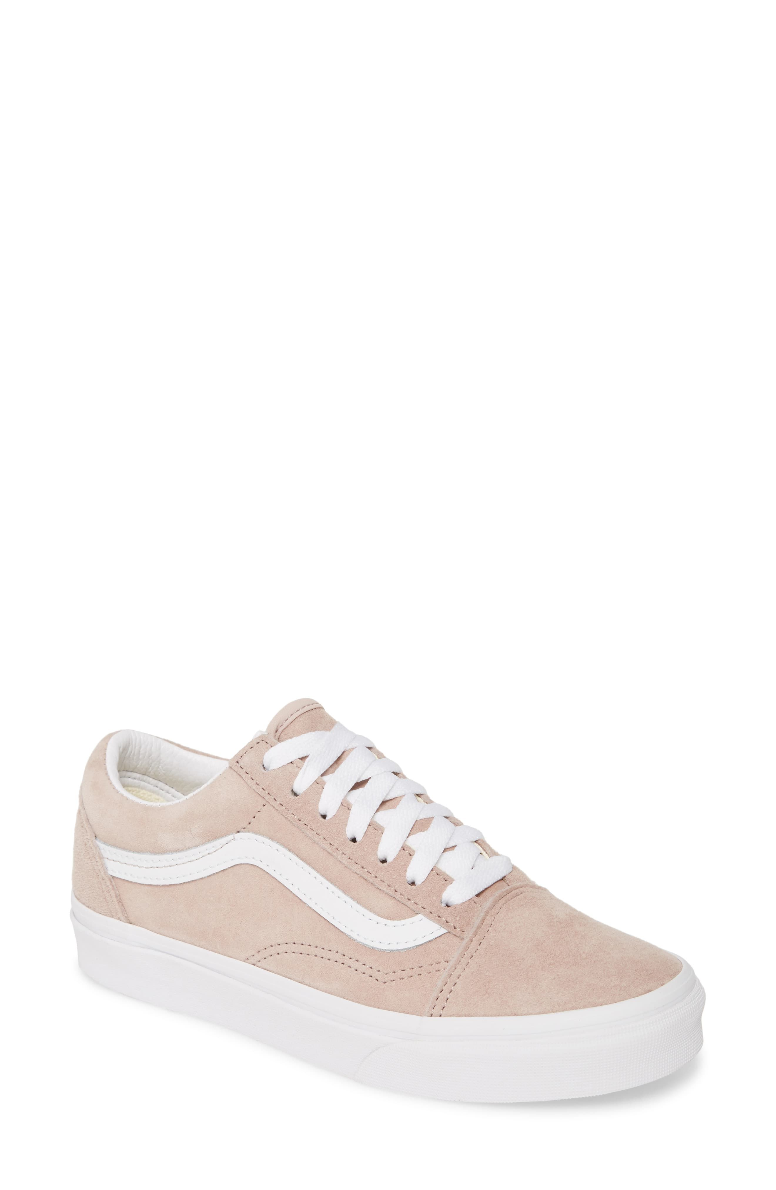 Vans Old Skool Brown Pig Suede Skate Shoes | Mens vans shoes