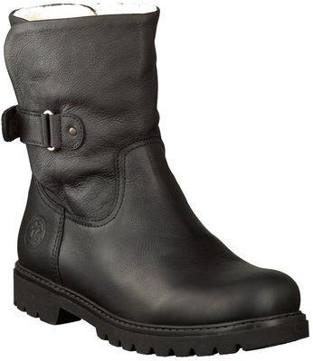 Panama Jack Leder Winterboots Schwarz Boots Clog Boots Fashion Shoes