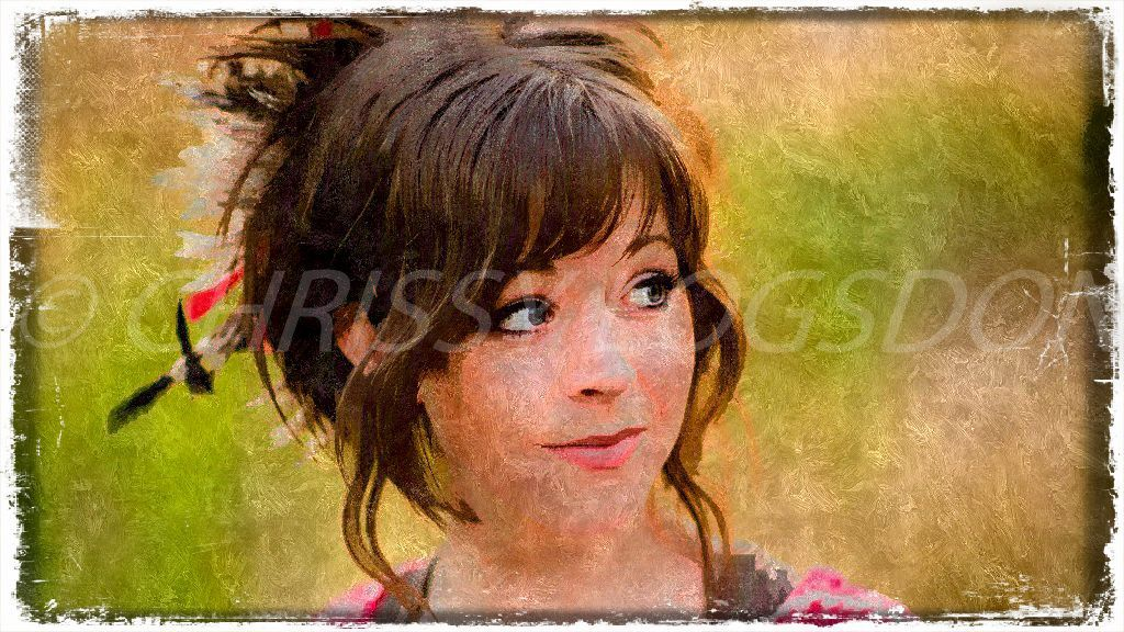 Lindsey Stirling 11 x 14 Watercolor Print Photo by URAmazingCreations on Etsy