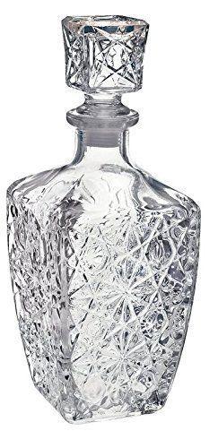 Liquor Whiskey Decanter Vintage Gl Crystal Bottle Wine Stopper Bar Scotch Ebay