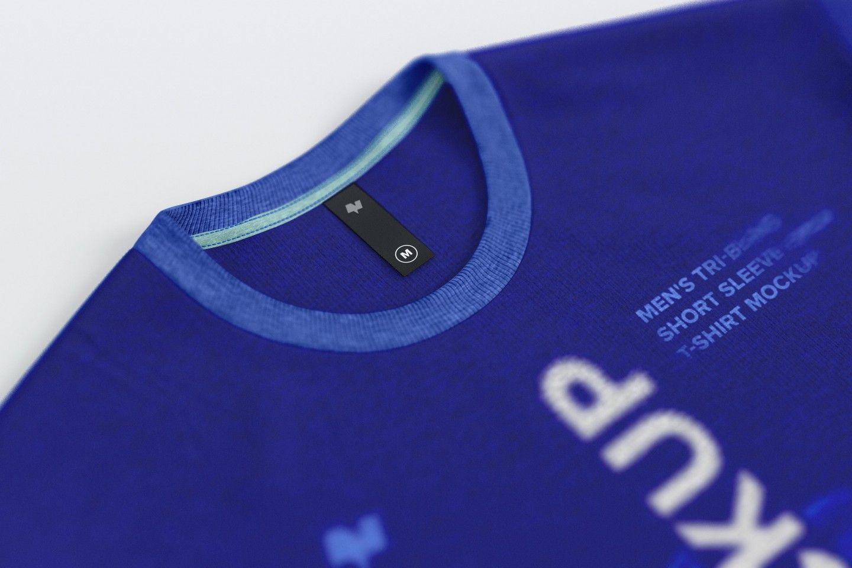 Download Free Thin Label On Men S T Shirt Mockup Shirt Mockup Free Mockup Mockup Free Psd