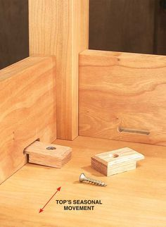 Elegant Tabletop Fasteners By Tom Caspar On My Best Work I Want The Bottom Of My Project To Look As Good As The Top Diy Woodworking Wood Projects Wood Diy