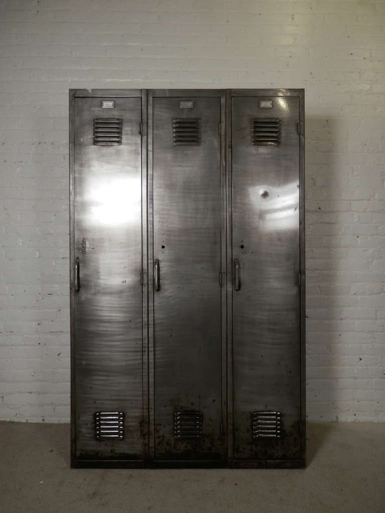 Amazing Large Industrial Locker Unit Photo