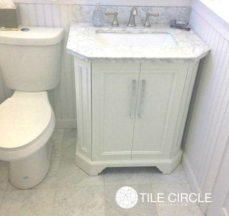 aspen white marble tile 12 x 12