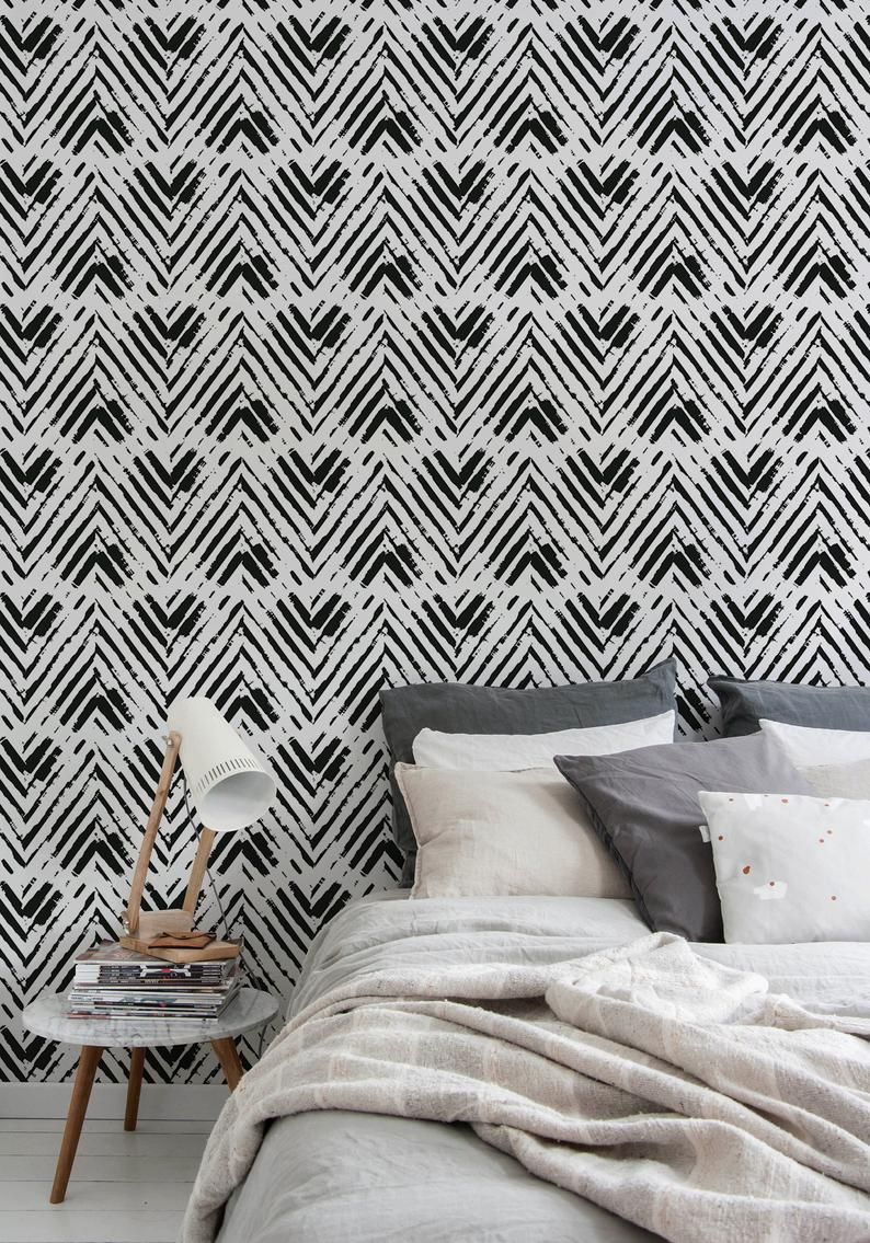 Removable Wallpaper Peel And Stick Wallpaper Wall Paper Wall Etsy Removable Wallpaper Wall Wallpaper Smooth Walls