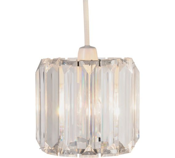 Lights · buy collection natalie drum acrylic shade clear at argos co uk your