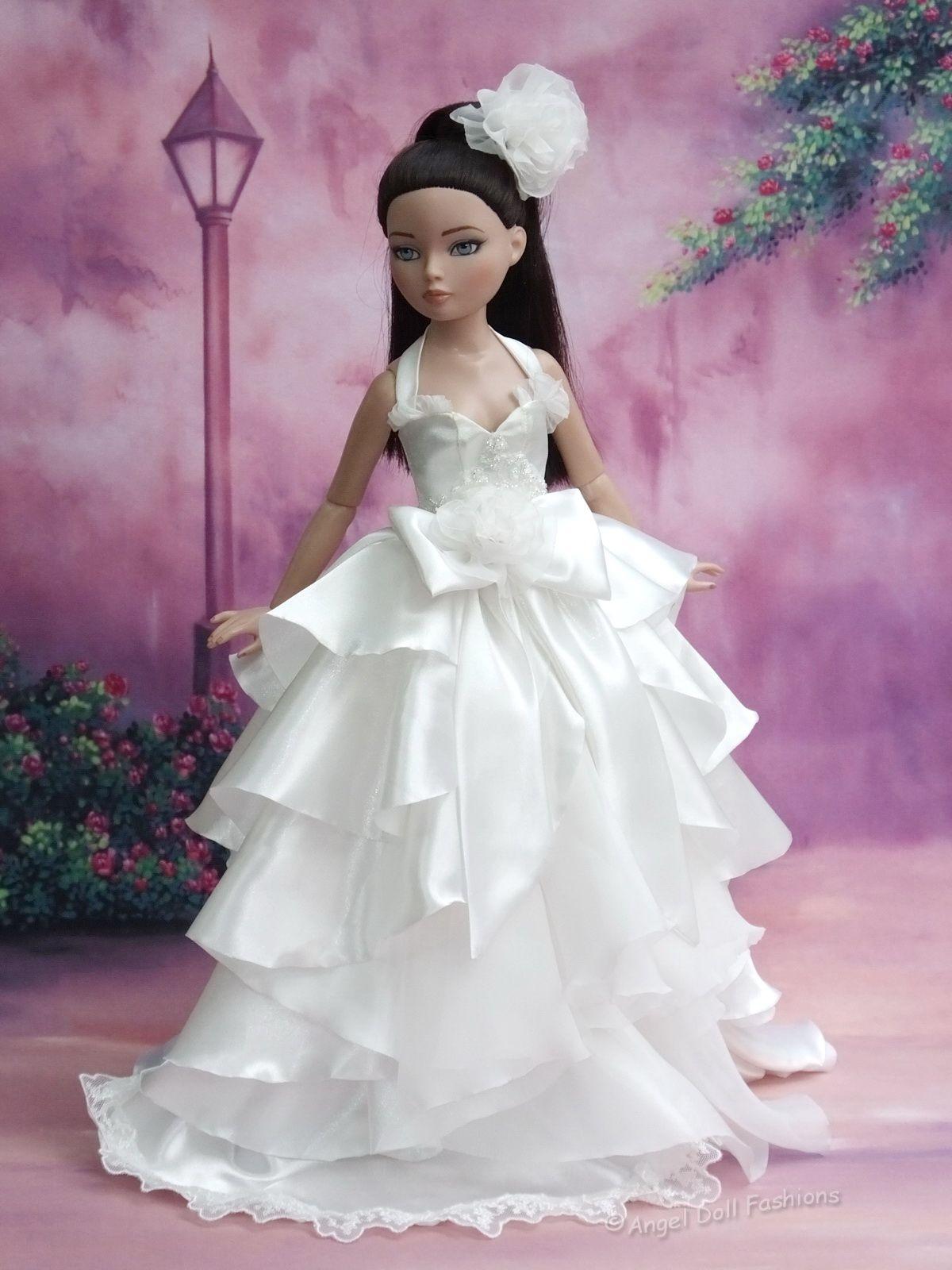 Doll wedding dress  for Ellowyne