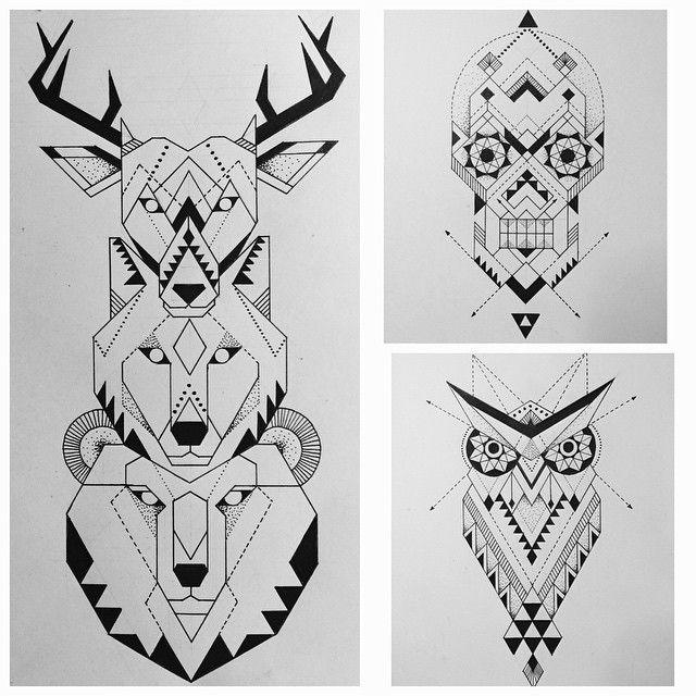 Bear Totem Tattoo Google Search Totem Tattoo Geometric Wolf Totem Pole Tattoo